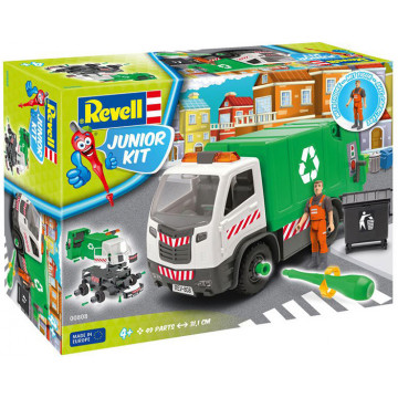 Junior Kit Camion della Spazzatura 1:20