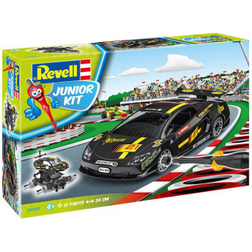 Junior Kit Black Racing Car 1:20