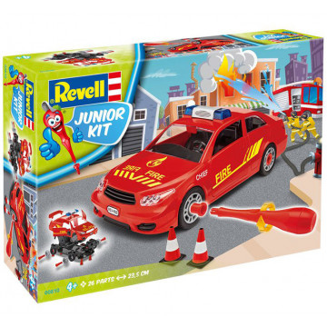 Junior Kit Auto del Capo dei Pompieri 1:20