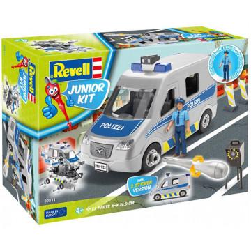 Junior Kit Van della Polizia 1:20