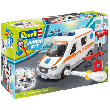 Junior Kit Ambulanza 1:20