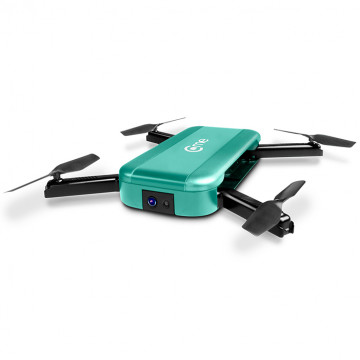 C-me Teal Go Anywhere Flying Camera