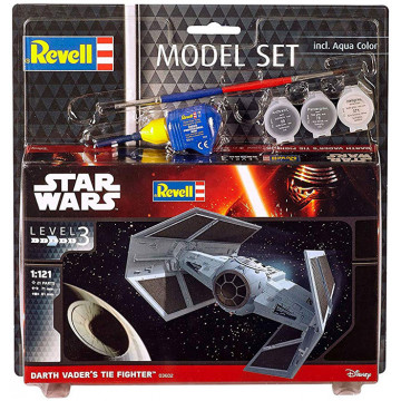 Model Set Star Wars Darth Vader's Tie Figh 1:121
