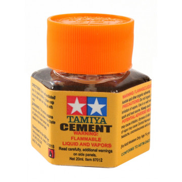 Colla per Plastica Tamiya Cement da 20ml