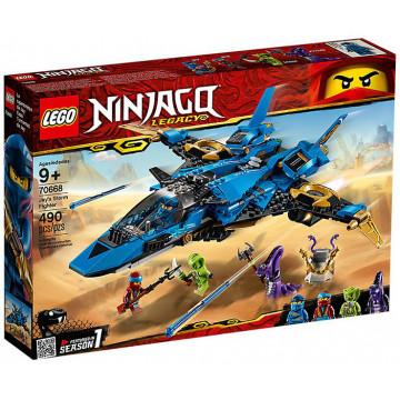Ninjago - Il Jet da Combattimento di Jay