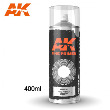 Fine Primer Grey Spray 400ml