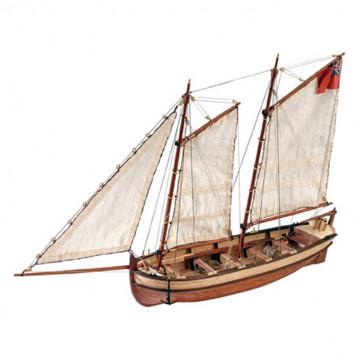 HMS Endeavour's Captain Longboat 1:50