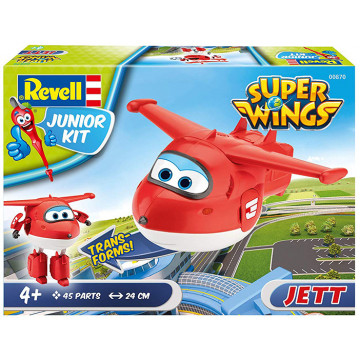 Junior Kit Super Wings Jett 1:20