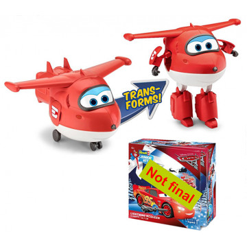 Junior Kit Advent Calendar Super Wings Jett 1:20