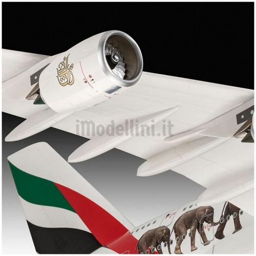 Airbus A380-800 Emirates Wild Life 1:144