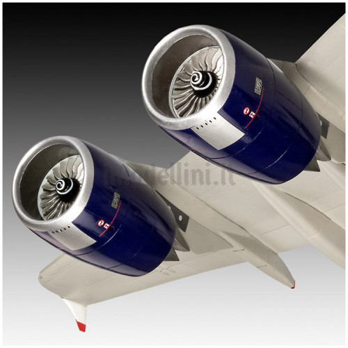 Airbus A380-800 British Airways 1:144