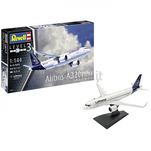 Airbus A320 Neo New Livery 1:144