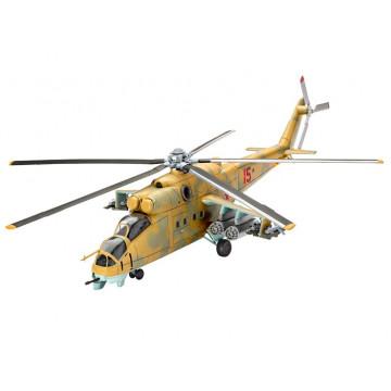 Elicottero Mil Mi-24D Hind 1:100
