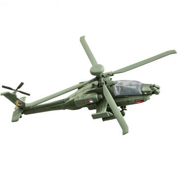 Elicottero AH-64 Apache Build & Play 1:100
