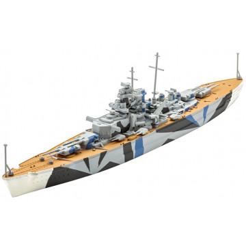 Nave Corazzata Tirpitz 1:1200