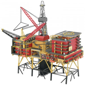 Piattaforma Petrolifera Off-Shore Oilrig North Cormorant 1:200