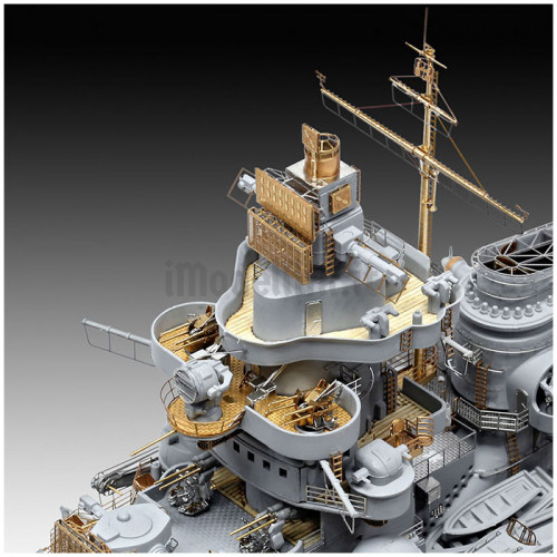 Nave Corazzata Tirpitz Platinum Edition 1:350