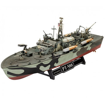 Motosilurante Patrol Torpedo Boat PT-588 - PT-579 1:72