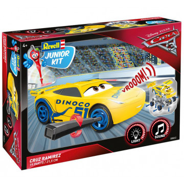 Junior Kit Cars 3 Cruz Ramirez Light & Sound 1:20