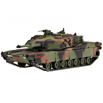 Carro Armato da Combattimento M1 A1 HA Abrams 1:72
