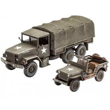 Camion Militare M34 e Veicolo Off Road 1:35