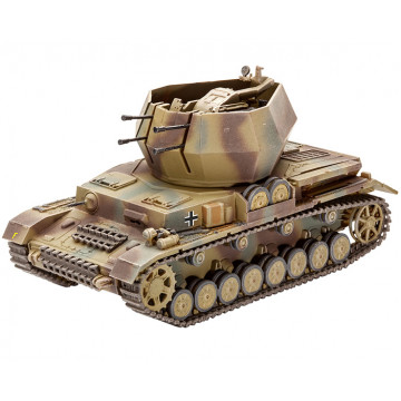 Carro Antiaereo Flakpanzer IV Wirbelwind Flak 38 1:72