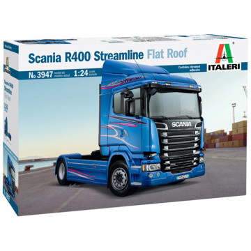 Motrice Camion Scania R400 Streamline Flat Roof 1:24