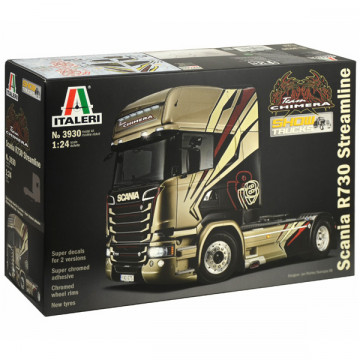Motrice Camion Scania R730 Streamline Team Chimera 1:24