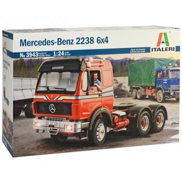 Motrice Camion Mercedes Benz 2238 6x4 1:24