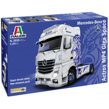 Motrice Camion Mercedes Benz Actros MP4 Giga Space 1:24