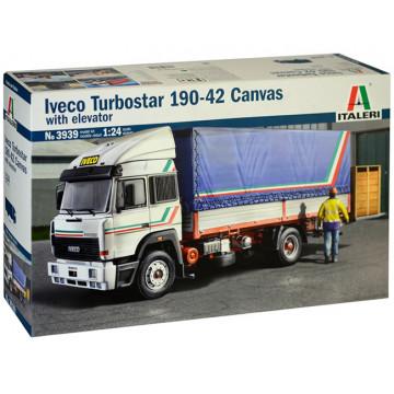 Camion Iveco Turbostar 190-42 Canvas con Sponda 1:24