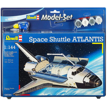 Model Set Space Shuttle Atlantis 1:144