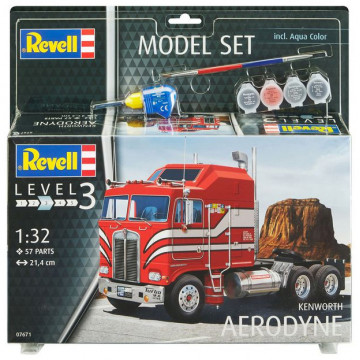 Model Set Motrice Camion Kenworth Aerodyne 1:32