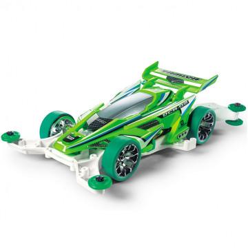 Mini 4WD DCR-02 Fluorescent Green Special con Telaio MA
