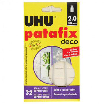 UHU Patafix Deco 32 Gommini Adesivi Super Forti