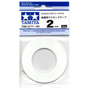 Nastro Masking Tape da 2mm per Curve