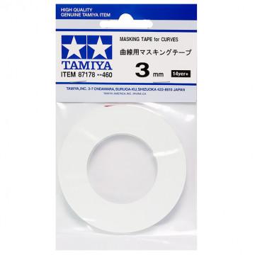 Nastro Masking Tape da 3mm per Curve
