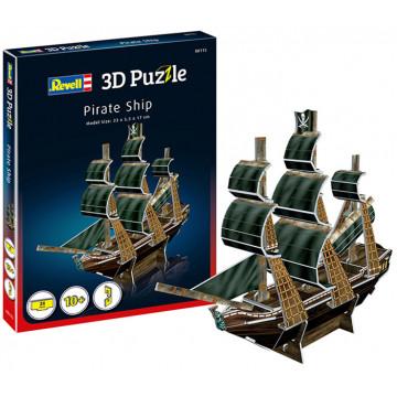 Puzzle 3D Nave dei Pirati