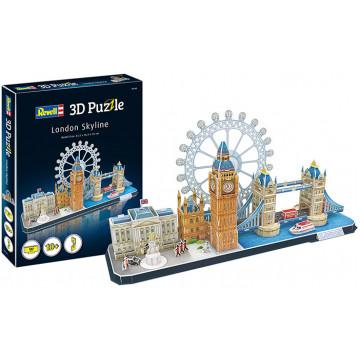 Puzzle 3D Skyline Londra