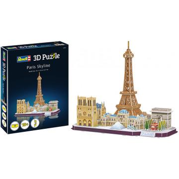 Puzzle 3D Skyline Parigi