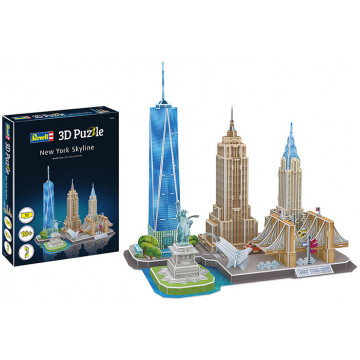 Puzzle 3D Skyline New York