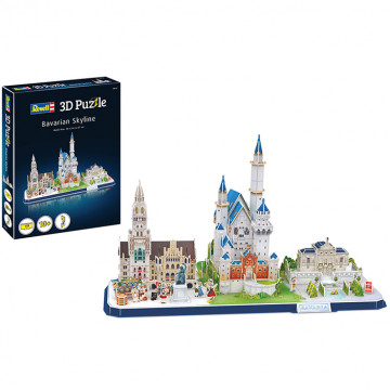 Puzzle 3D Skyline Bavarese