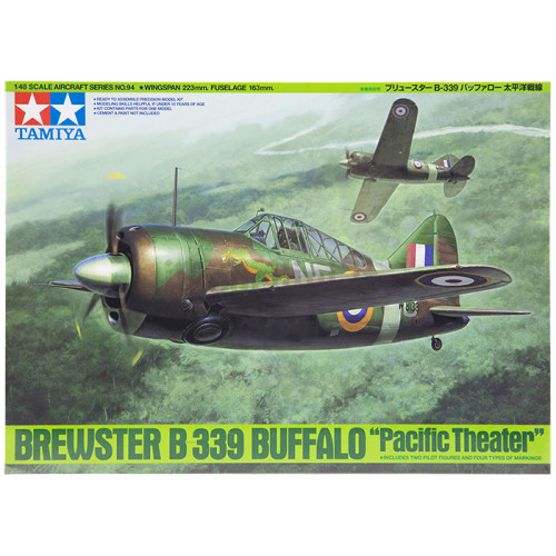 Brewster B-339 Buffalo Pacific Theater 1:48