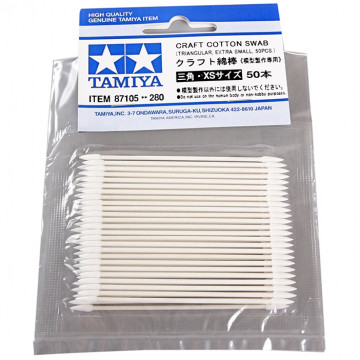 Bastoncini Craft Cotton Swab Triangular Extra Small 50 pz