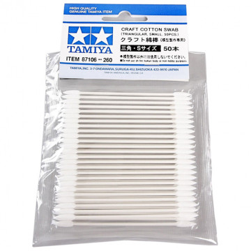 Bastoncini Craft Cotton Swab Triangular Small 50 pz