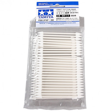 Bastoncini Craft Cotton Swab Triangular Medium 50 pz