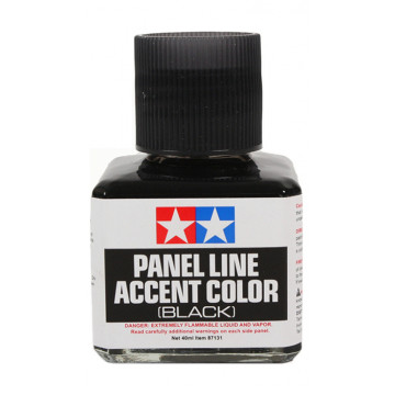 Panel Line Accent Color Enamel Black