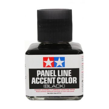 Panel Line Accent Color Enamel Black