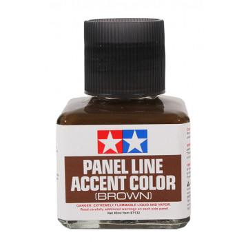 Panel Line Accent Color Enamel Brown