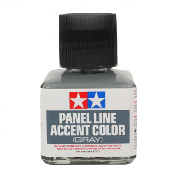 Panel Line Accent Color Enamel Gray